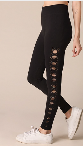 Pointelle Leggings