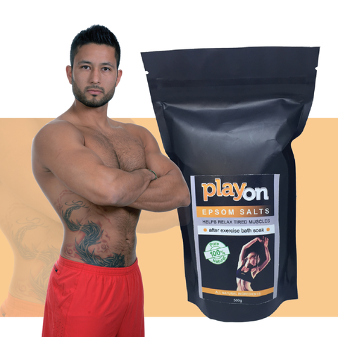 PlayOn EPSOM SALT 500g