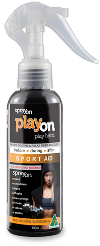 playon SPORT AID 100ml - playon products, Sport Aid - playon SPORT AID