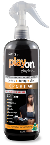 playon SPORT AID 500ml - playon products, Sport Aid - playon SPORT AID