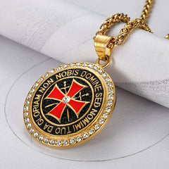 New Arrival Knights Templar Necklace
