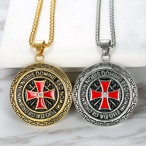 New Knights Templar Necklace