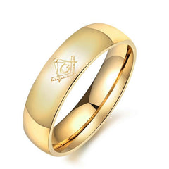 Special offer **FREE**Freemasonry Stainless Ring