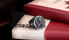 Sons of Anarchy Stainless Steel Skull Ring