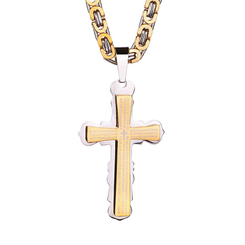 Cross Bible Necklace