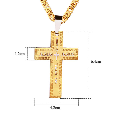 New Jesus Cross Pendant