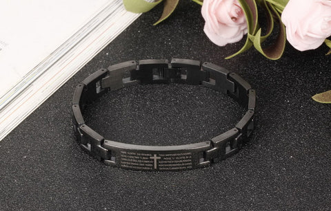2018 Premium  Stainless Steel  Bible Bracelet