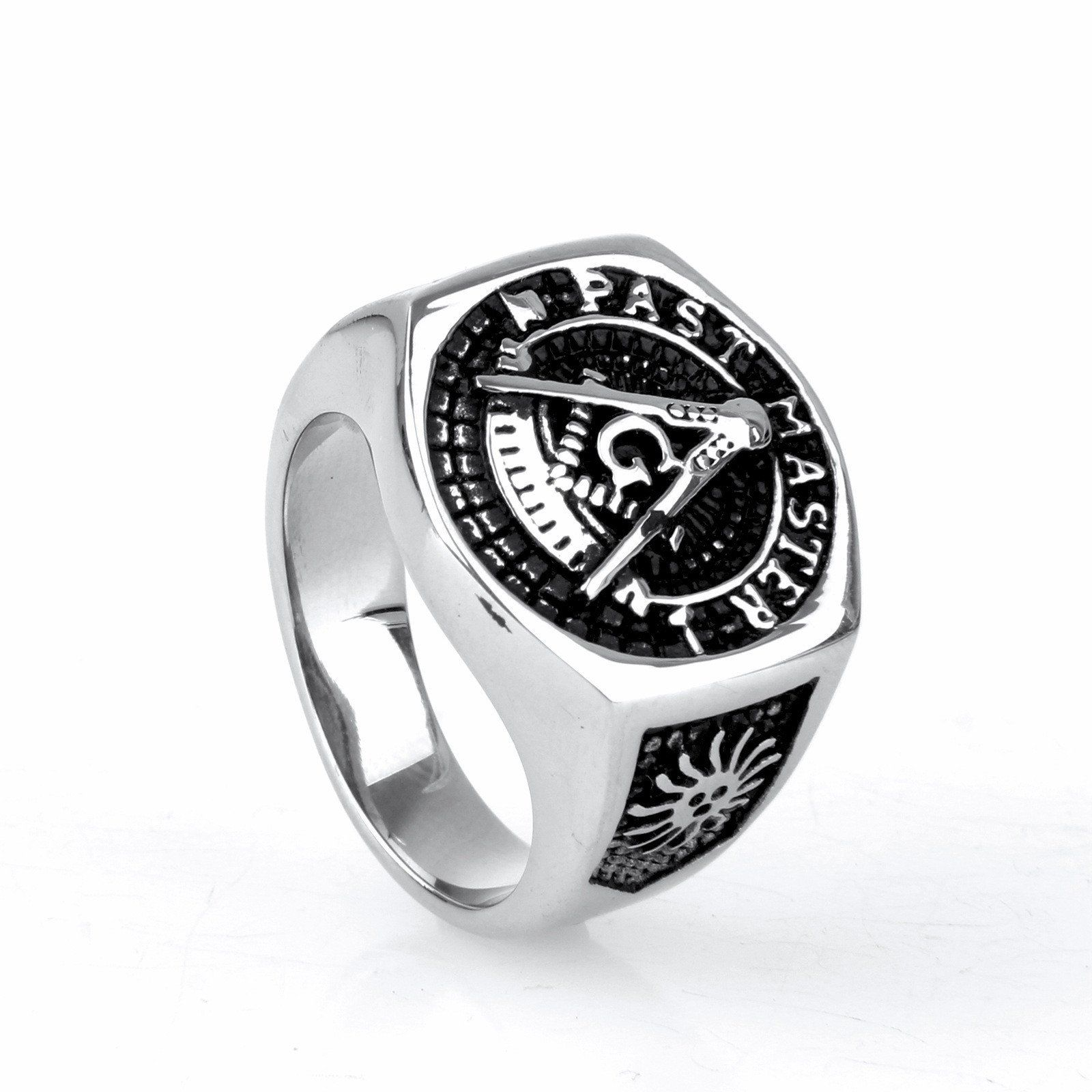 PAST MASTER MASONIC RING