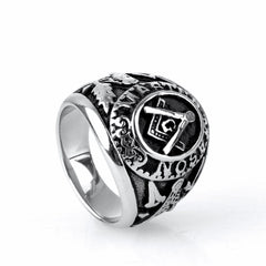 New Arrival VINTAGE MASONIC RING (D0079)