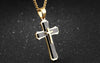 Image of Mens  Cross Necklace