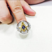 Load image into Gallery viewer, Vintage Masonic Ring Blue(RAR0001)