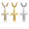 Image of Cross Christ Jesus Pendant Necklace FOR CF