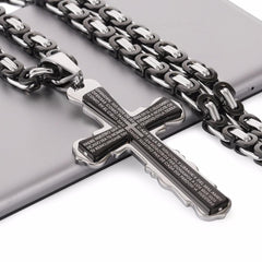 Cross Bible Heavy duty Necklace