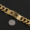 Image of Gold Plated Cross Bracelet