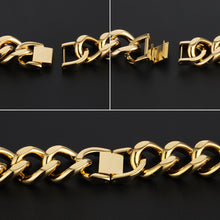 Load image into Gallery viewer, Gold Plated Cross Bracelet