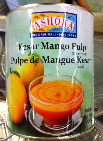 Mango canned pulp (6 cans/case)