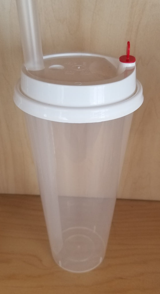 Slim Plastic Cups: Sleeves, Covers and Plug