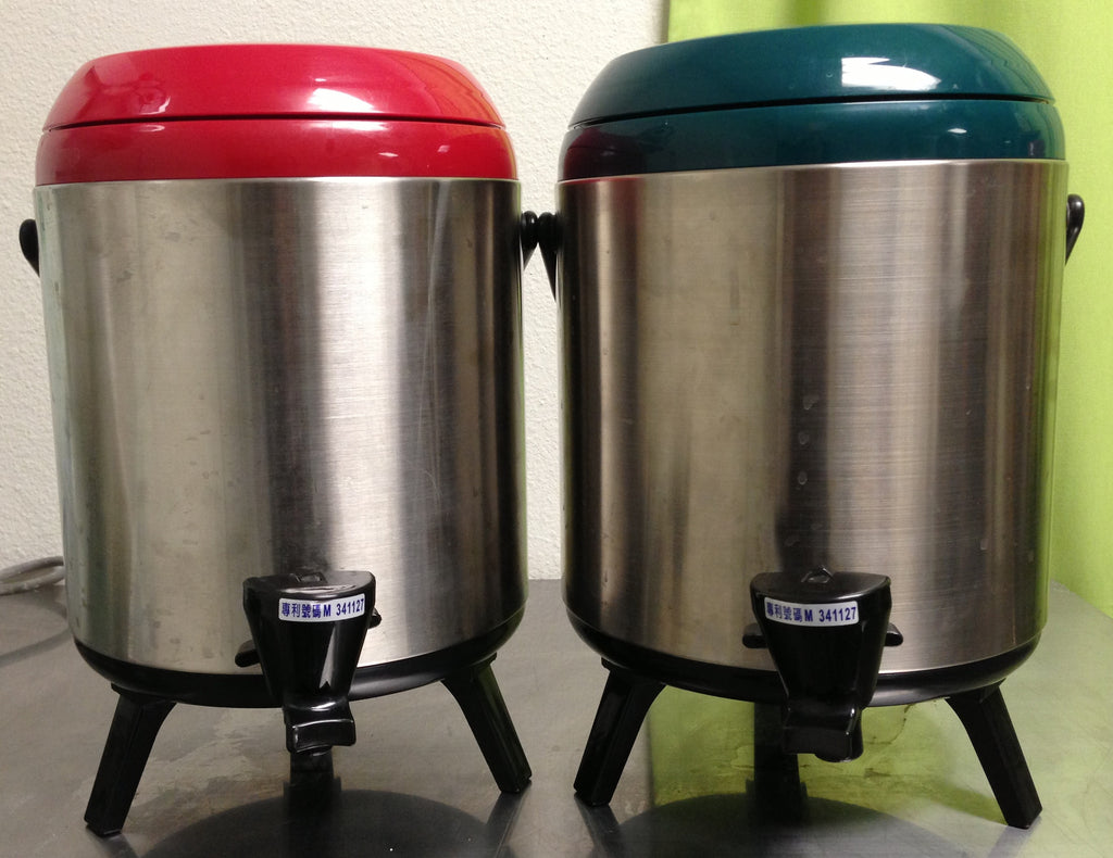 Plastic Tea Bins