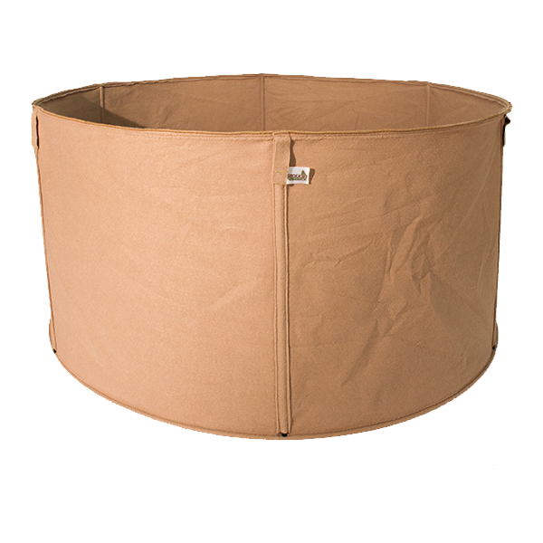 SEQUOIA 400 Gallon Fabric Tree pot for raised bed gardening and urban gardening
