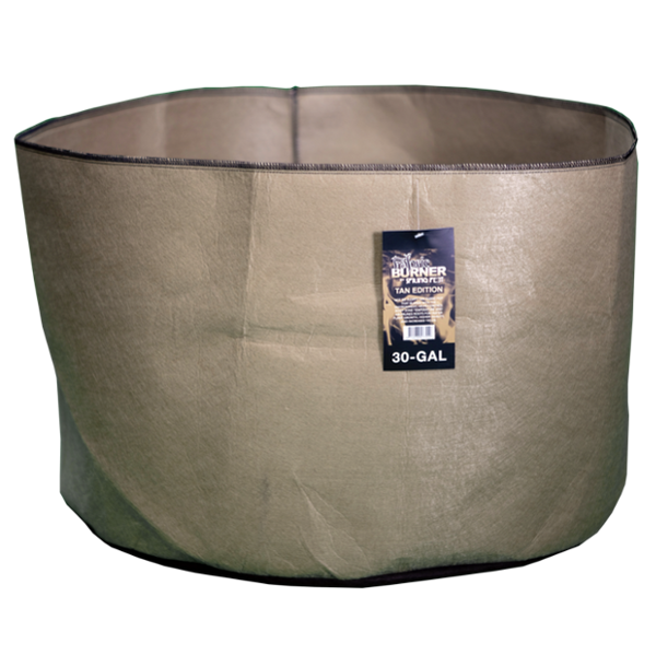 TAN SPRING POT BURNER - 30 Gallon Fabric Pot