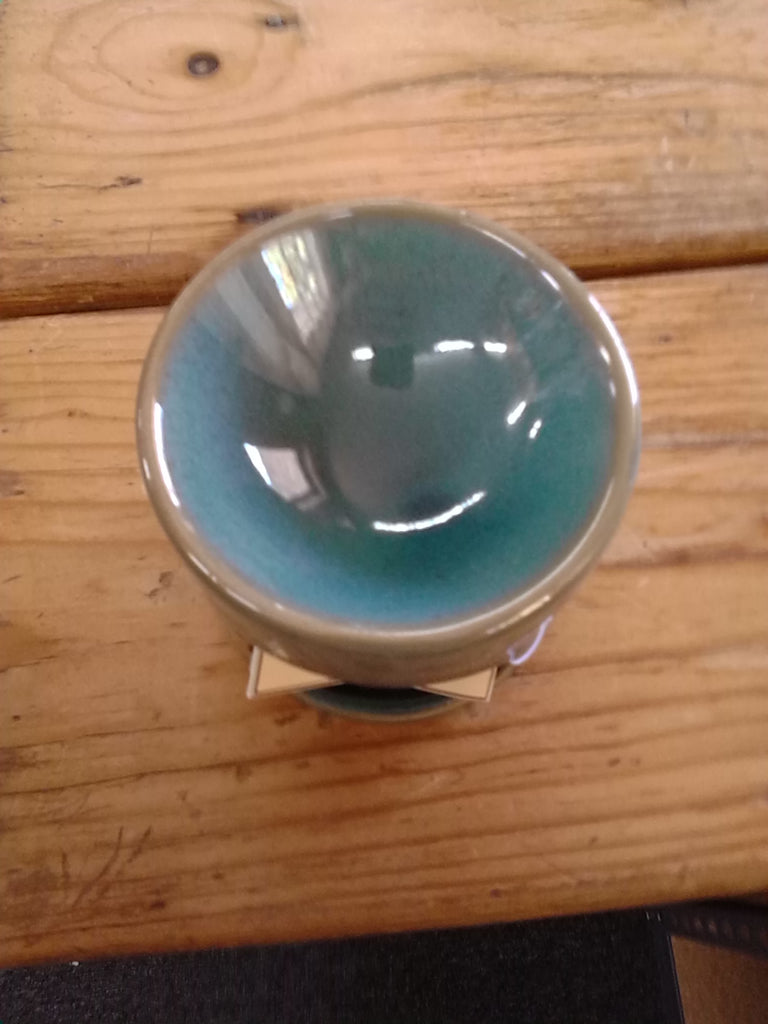 Olive green mini Tealight warmer