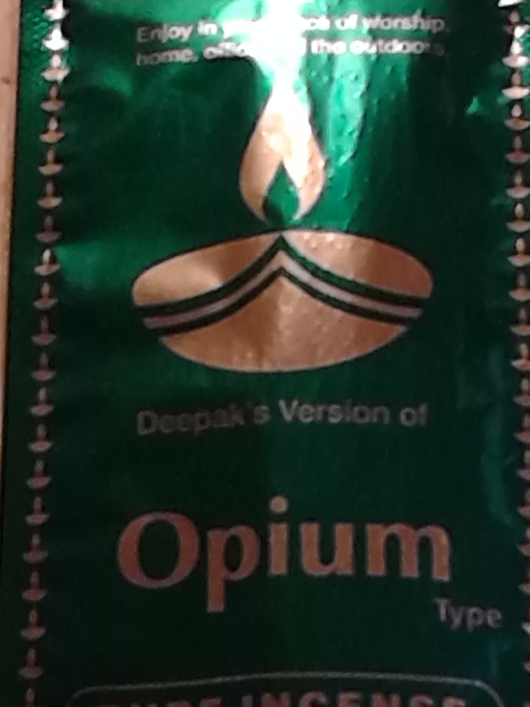 Opium Incense Sticks by Deepak