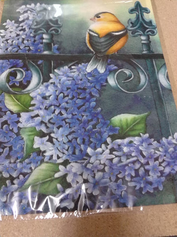 Summer Lilacs Garden Flag