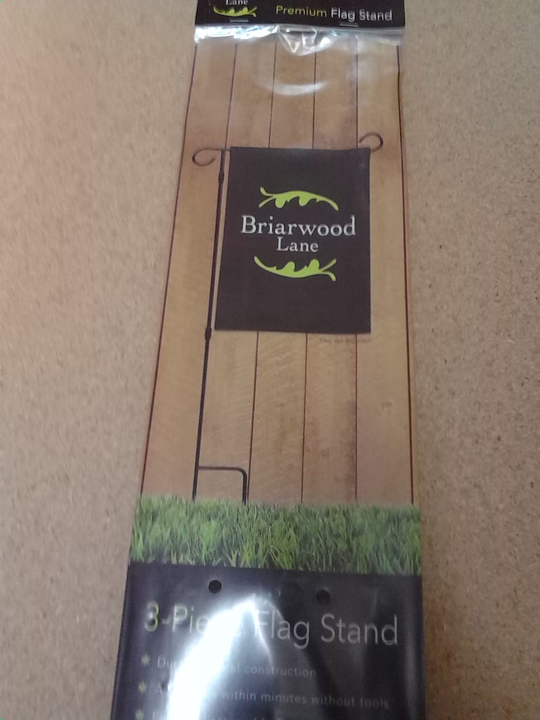 Briarwood Lane 3 Pc. Garden Flag Stand