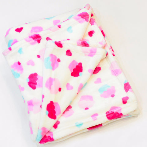 CUPCAKE FLANNEL FLEECE BLANKET