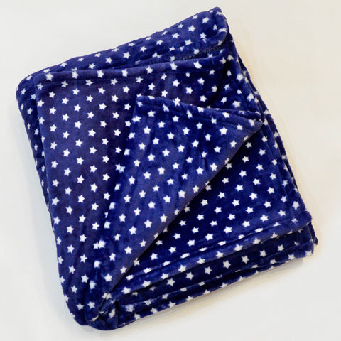 STAR FLANNEL FLEECE BLANKET