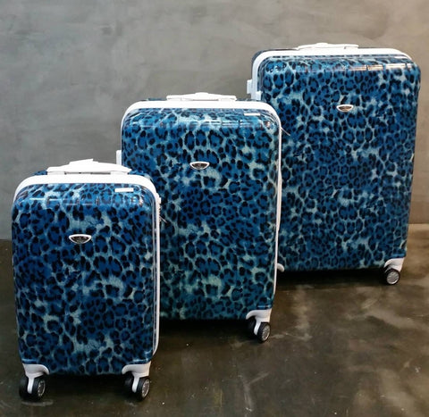 BLUE LEOPARD TROLLEY