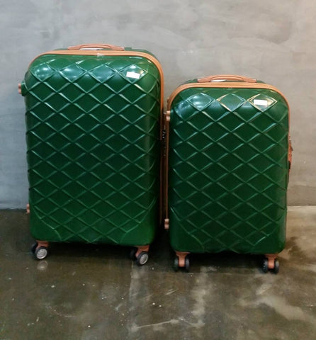 GREEN CHECKER TROLLEY