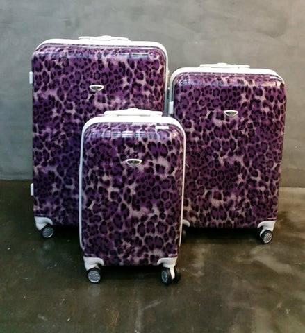 PURPLE LEOPARD TROLLEY