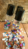 Rainbow Mixed Agate Roller Bottles - Calming