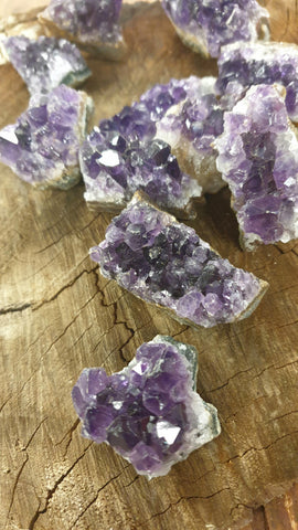 Amethyst Clusters Crystal Small