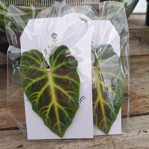 Philodendron Verrucosum Keyring