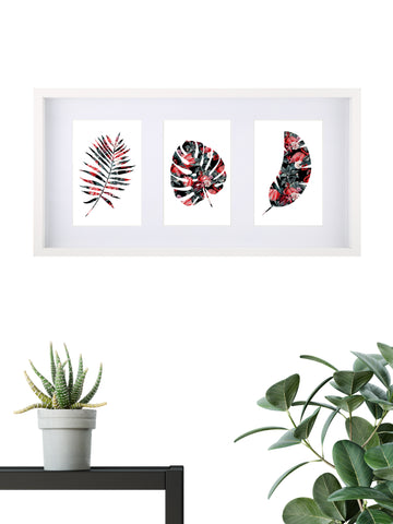 Tropical Assorted 004 - Framed Set