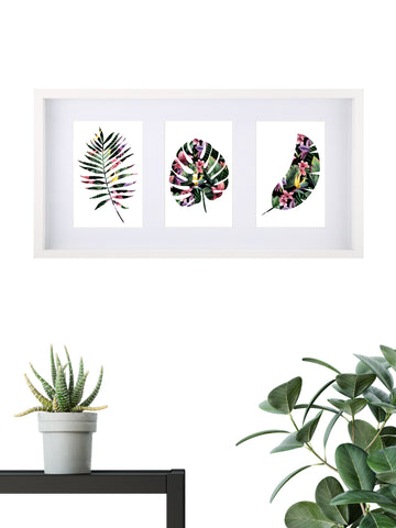 Tropical Assorted 005 - Framed Set