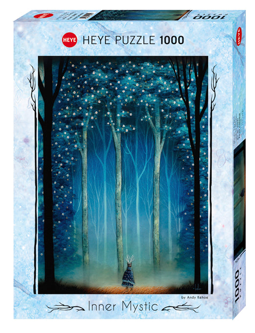 Cathedral of the Forest Deep - Jigsaw Puzzle