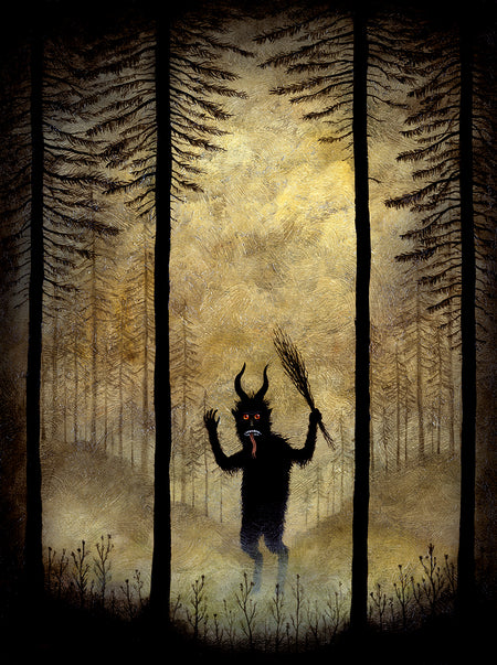 Krampus in the Wild - Open Edition Print
