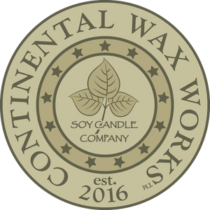 Continental Wax Works Soy Candles logo