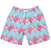 Blue Splendid Fairy-wren Kids' Swim Shorts