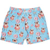 Blue Pug Men's Boardshorts