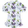 Budgie Koala Girls Long Sleeve Zip Swimmers
