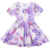 Fairy Koalas Short Sleeve Twirl Dress