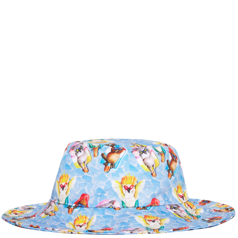 Floating Animals Beach Hat