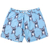 Blue Frenchie Men's Boardshorts