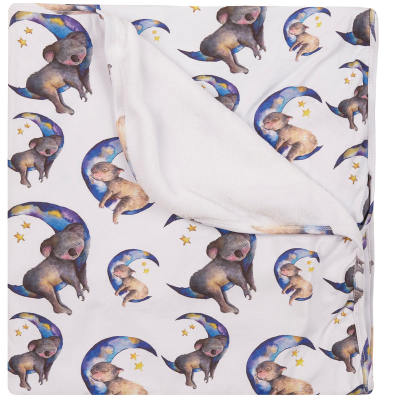 Moon Animals Blanket