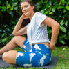 Navy Cockatoo Women's Bike Shorts