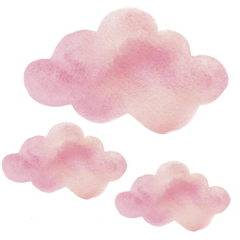 Pink Clouds Wall Decal